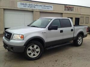 2007 Ford F-150 FX4-4X4-LOADED-ALLOYS-SAFTIED