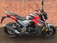 Viper 125cc fsh low mileage