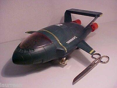 BIG Thunderbird 2 Thundercop Thunderbirds 15 INCH Cheng Ching Toys Plastic Works