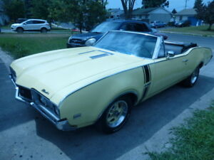 OLDSMOBILE CUTLASS CONVERTIBLE 1968