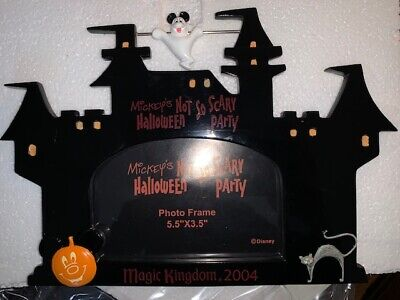 Photos Disney Halloween (Disney World Mickeys Not So Scary Halloween Party 2004 Photo Frame Ghost)