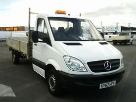 Mercedes-Benz Sprinter 313 CDI LWB 3.5T DROPSIDE DIESEL MANUAL WHITE (2012)