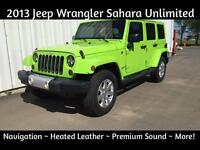 2013 Jeep Wrangler Sahara Unlimited ~ $28,900 w/Low Payments!