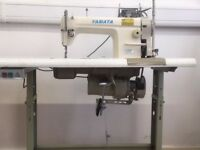 YAMATA INDUSTRIAL SEWING MACHINE (Excellent Condition and newly serviced) £650