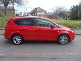 SEAT ALTEA XL 1.6 CR TDI SE DSG 5d AUTO 103 BHP (red) 2012