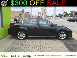 2014 SUBARU LEGACY 2.5I PREMIUM with SUNROOF, ALL-WHEEL-DRIVE