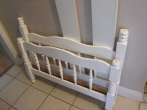 Single bed frame - solid wood