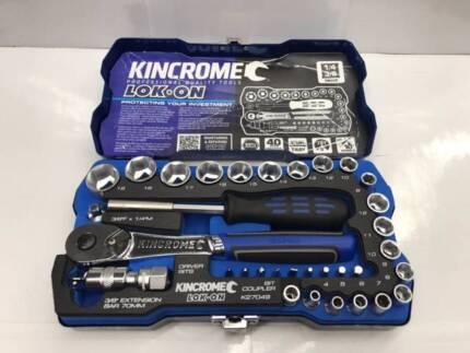 Kincrome Socket Set 3/8- 1/4 *GREAT VALUE*
