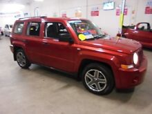 2009 Jeep Patriot MK MY2009 Sport Red 5 Speed Manual Wagon Wangara Wanneroo Area Preview