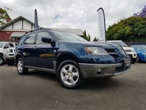 2003 Mitsubishi Outlander ZE XLS Offshore Blue 4 Speed Auto Sports Mode Wagon Mount Hawthorn Vincent Area Preview