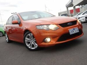 2011 Ford Falcon FG XR6 Orange 6 Speed Sports Automatic Sedan Strathmore Heights Moonee Valley Preview