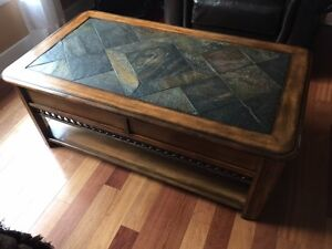 Madison Lift Top Slate Coffee Table