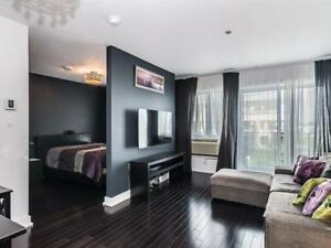 1 Bed + Den Loft style condo with Gym in Dorval (Montreal)