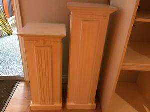 Colonnes décoratrices pour le salon ou séjour