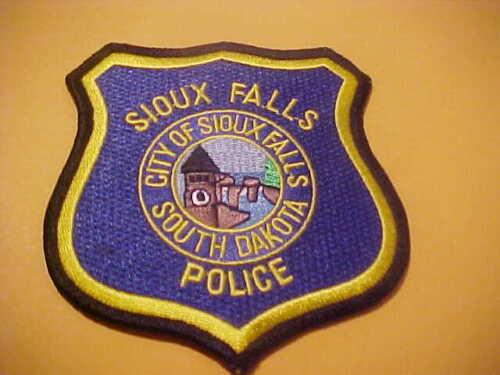 FALLS SOUTH DAKOTA  POLICE PATCH NEW  TYPE 2
