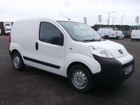 Peugeot Bipper 1.3 HDI 75 BHP S VAN DIESEL MANUAL WHITE (2013)