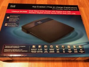Linksys N750 Dual-Band Smart Wi-Fi Router (EA3500)