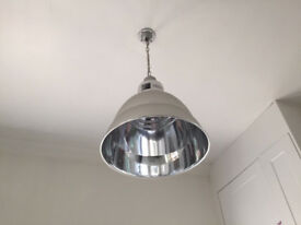Aluminum Pendant Photographic Lights (x 2)