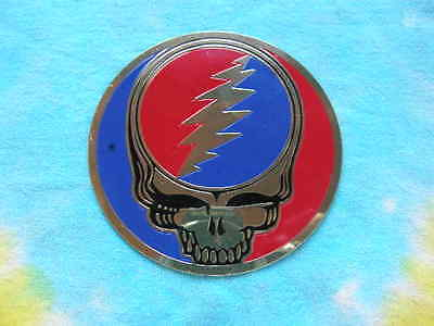 Grateful Dead 3 inch Steal Your Face SYF Metal Sticker