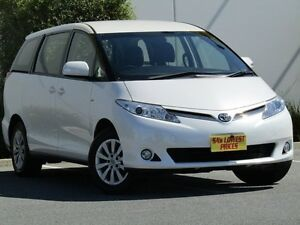 2013 Toyota Tarago ACR50R MY13 GLi White 7 Speed Constant Variable Wagon Melrose Park Mitcham Area Preview