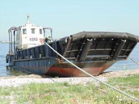 1993 Landing craft, Work boat, Tanker, Barge