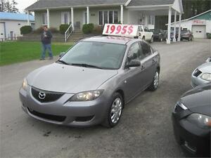 Mazda 3 GX 2006 PETIT BUDGET !!!