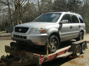 Parting out 2005 Honda Pilot