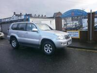 Toyota Land Cruiser 3.0 D-4D LC3 5dr full 8 seater