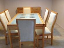 Dining Room Table and Buffet Howlong Albury Area Preview