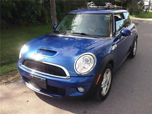 2007 MINI Cooper COOPER S 6SPD LOADED PANO ROOF CERT $4975