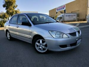 2006 Mitsubishi Lancer CH MY06 ES Silver 4 Speed Auto Sports Mode Sedan Malaga Swan Area Preview