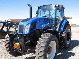 2015 NEW HOLLAND TS6.140 MFWD TRACTOR