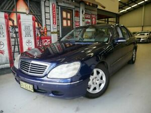 2000 Mercedes-Benz S-Class W220 S320 Blue Metallic 5 Speed Automatic Sedan Rydalmere Parramatta Area Preview