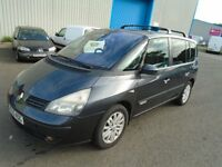 2005 RENAULT ESPACE 2.2 DCI AUTO 7 SEATS PAN ROOF CD E/W DIESEL CHEAP CAR