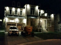 EXTERIOR POT LIGHTS INSTALLATION $70 - licensed electrician *