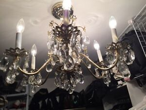Chandeliers crystal antique