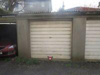 Single Garage for secure parking or storage