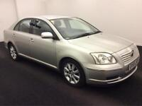 2005 55 Reg Toyota Avensis 1.8 VVT-i T3-S,AUTOMATIC,SILVER,57,000 MILES