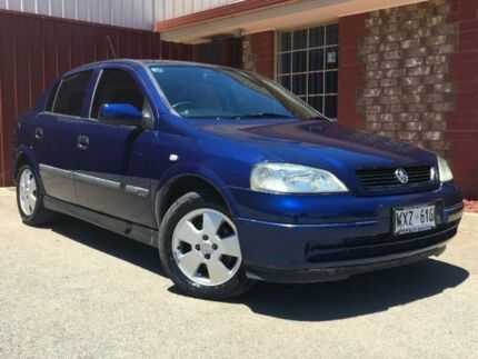 2003 Holden Astra TS CD Blue 4 Speed Automatic Sedan Mawson Lakes Salisbury Area Preview