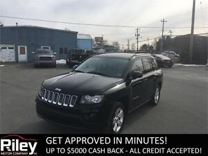 2015 Jeep Compass Sport LEATHER SEATS