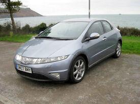 2007 (07) Honda Civic Sport i-CDTi, 2204cc Diesel, 6 Speed Manual