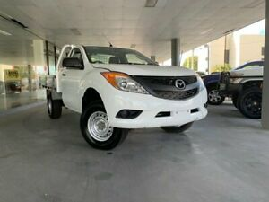 2011 Mazda BT-50 UP0YF1 XT White 6 Speed Manual Cab Chassis Maryborough Fraser Coast Preview