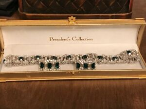 Fifth Avenue President's Collection Choker and Clip on Earrings