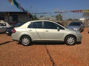 2007 Nissan Tiida C11 ST Gold 6 Speed Manual Sedan Hidden Valley Darwin City Preview