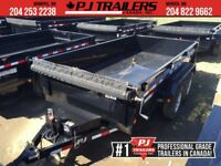 "2019 PJ 12' x 72"" Tandem Axle Dump Trailer, 9.9K GVWR Winnipeg Manitoba Preview"