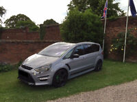 2011 FORD S MAX TITANIUM X SPORT RS 240 FULLY LOADED RARE NARDO GREY AUTO ST 7 SEATER