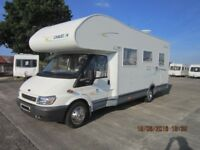 2005 CHAUSSON WELCOME 27 6 BERTH MOTORHOME WITH ONLY 28000 MILES ANDERSON MOTORHOME SALES