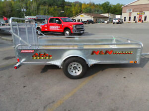 2018 N&N Allsport Series 5.5 X 10 Utility Trailer Galvanized