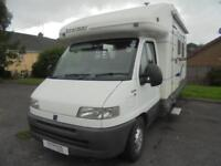 2001 Benimar Aereo Anthus CF-L 3 Berth Motorhome For Sale.Rear Fixed Bed
