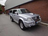 2005 MITSUBISHI L200 2.5 TD Warrior 4WD Last Owner 11 Years